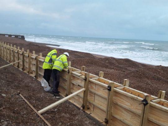 Coastal repairs and renovation